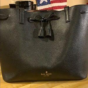 Leather Kate Spade tote